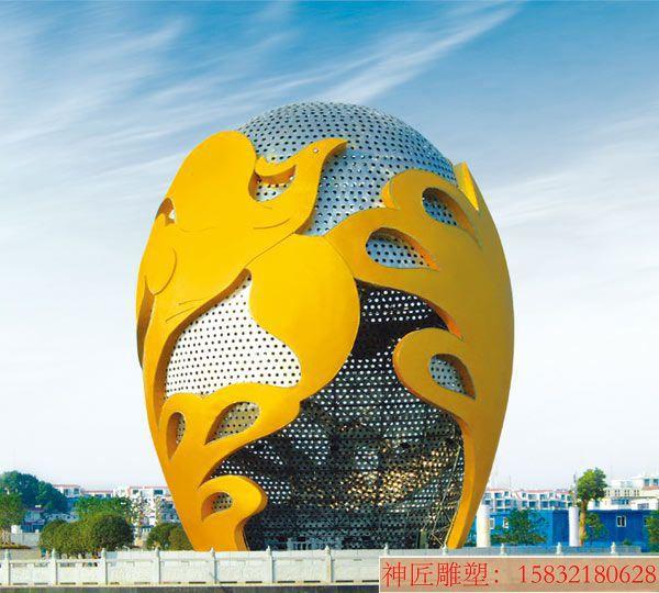 城市景观不锈钢雕塑